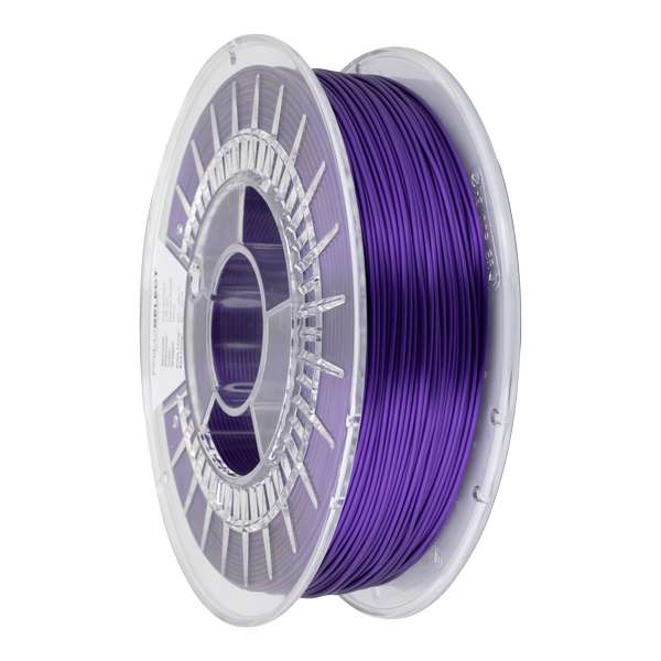 Glossy PLA filament Nebula Purple 1.75mm 750g - PrimaSelect