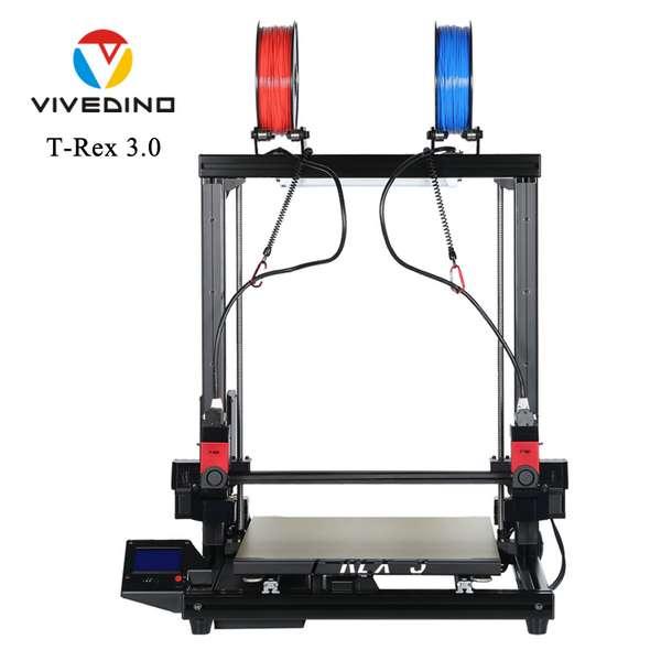 Vivedino Formbot T-Rex 3.0+ - 500 - DUAL EXTRUDER IDEX - Nova verzija
