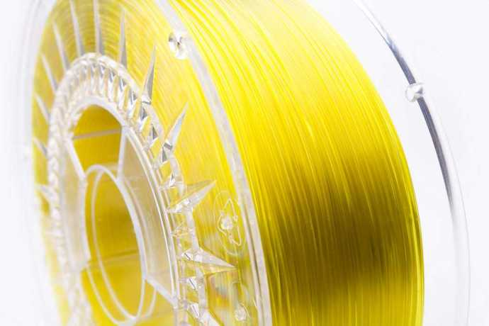 3Dshark PETG filament Yellow Glass 1000g 1.75mm