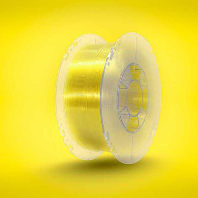 3Dshark PETG filament Yellow Glass 1000g 1.75mm