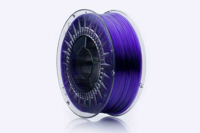 3Dshark PETG filament Violet Glass 1000g 1.75mm