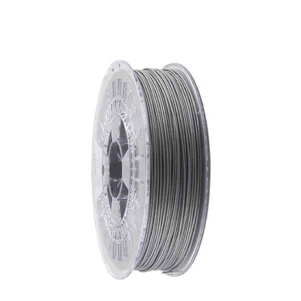 Metallic PLA filament Metallic Silver 1.75mm 750g