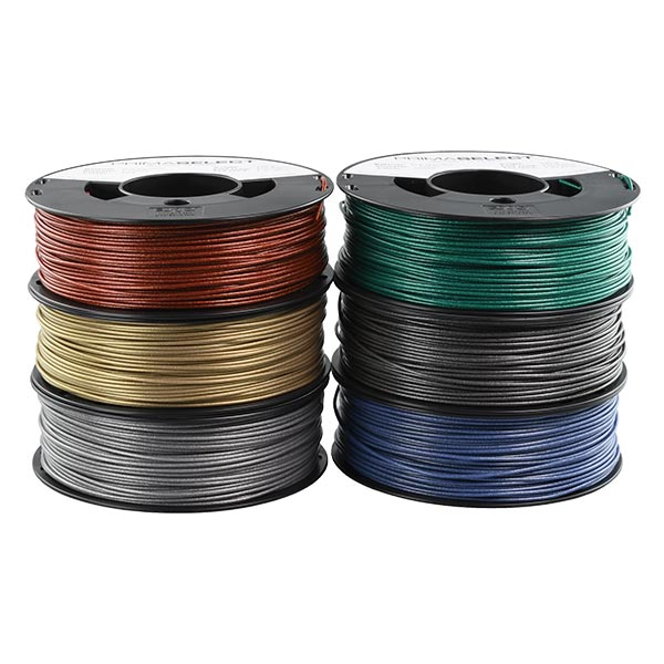 Metallic PLA filament PACK 1.75mm 6x250g