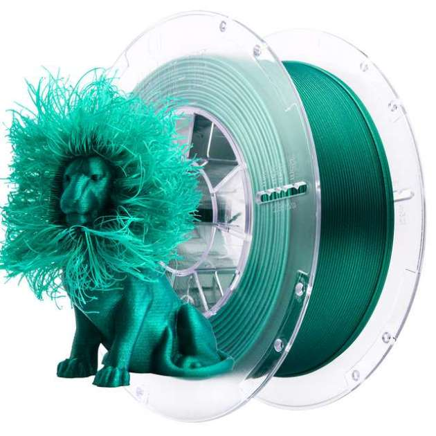 SmartFit Glitter PLA filament Emerald Green 850g 1.75mm