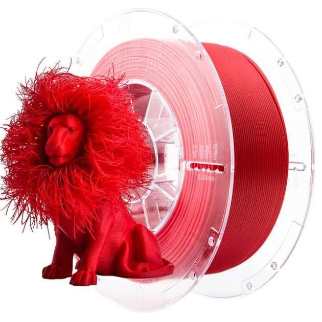SmartFit Glitter PLA filament Topaz Red 850g 1.75mm