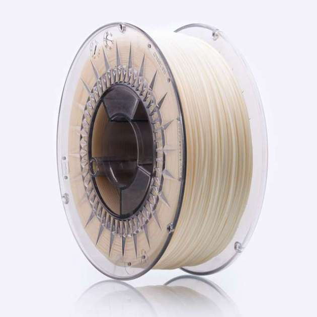 Smooth ABS Plus filament Natural 1.75mm 850g