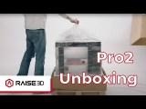 Raise3D Pro2 Plus 3D Printer - 3D SHARK - RAISE3D SLOVENIJA  - UNBOXING