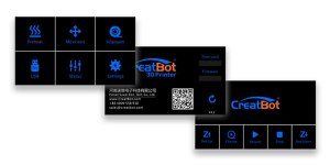 Máy in 3D CreatBot DE Plus