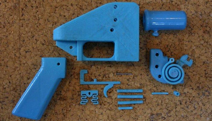 3d printed gun liberator pistol defense distributed