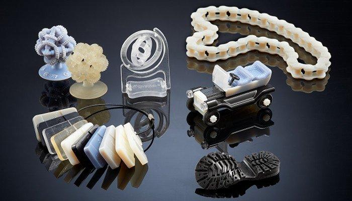 polyjet 3d printed parts