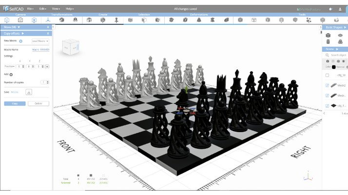 3d software selfcad