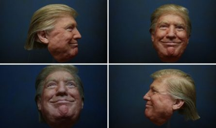 hyperflesh 3d printed mask donald trump