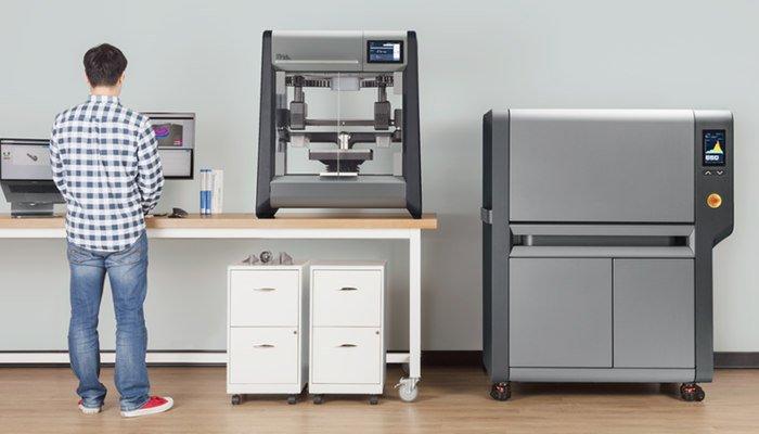 industrial 3d printer desktop metal