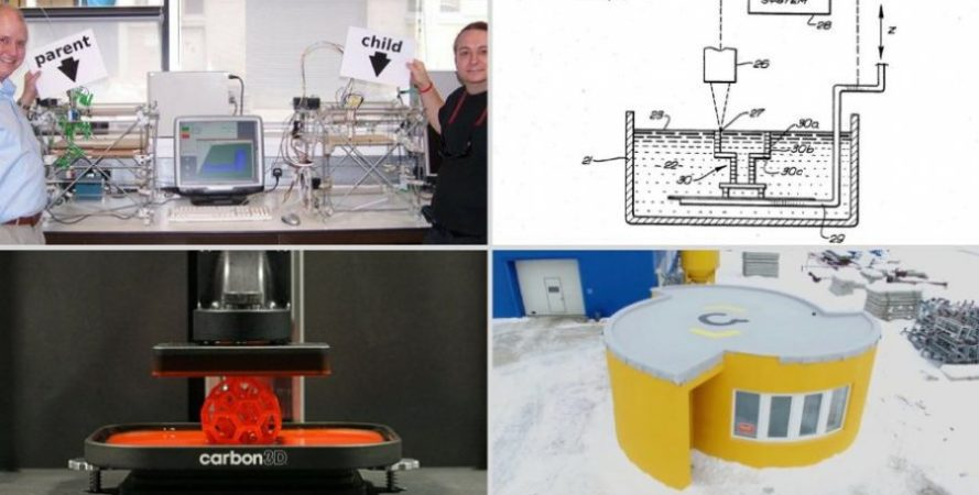 history of 3d printing