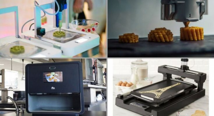 food 3D printer options