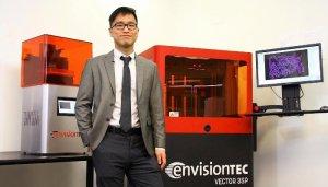 dental 3d printer envisiontec