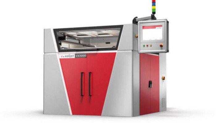metal 3d printer voxeljet