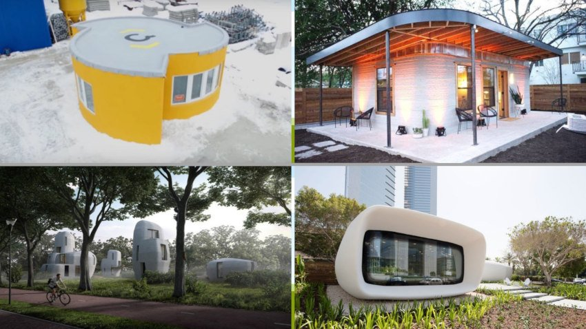 The 8 Most Exciting 3D Printed House Builds 2020