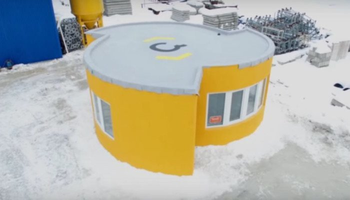 Apis Cor 3D printed house