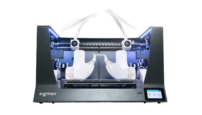 bcn3d sigmax sigma r19 large 3d printer