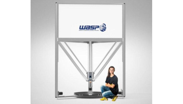 delta wasp 3mt large 3d printer