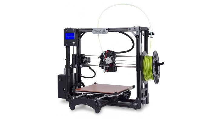 lulzbot taz 6 large 3d printer