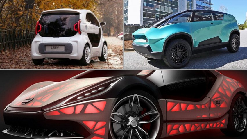 The 10 Most Exciting 3D Printed Cars & Supercars 2021
