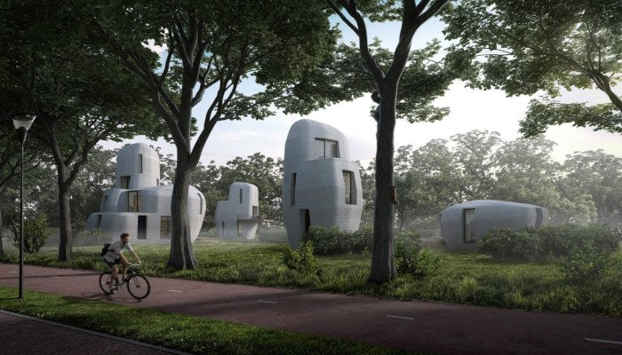3d printed house eindhoven project milestone