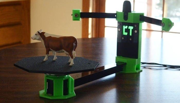 cowtech ciclop cheap 3d scanner