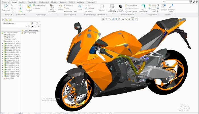 creo professional 3d software