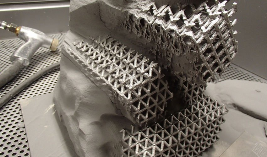 electron beam 3d printing metal part