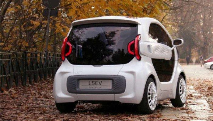 LSEV 3D printed car