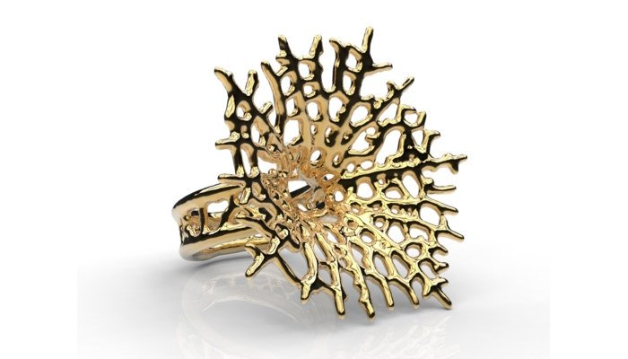 3d printed jewelry ring nervous system