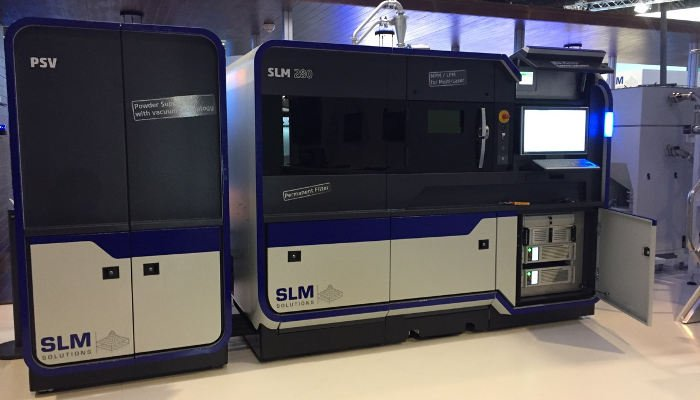 slm solutions metal 3d printer