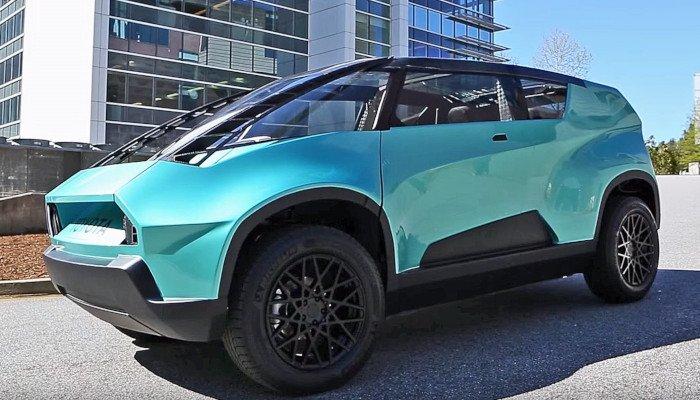toyota ubox 3d printed car