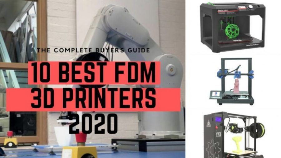 FDM 3D printer buyer guide ranking cover 2020