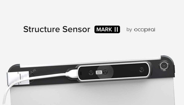 occipital structure sensor mark 2 ipad 3d scanner iphone
