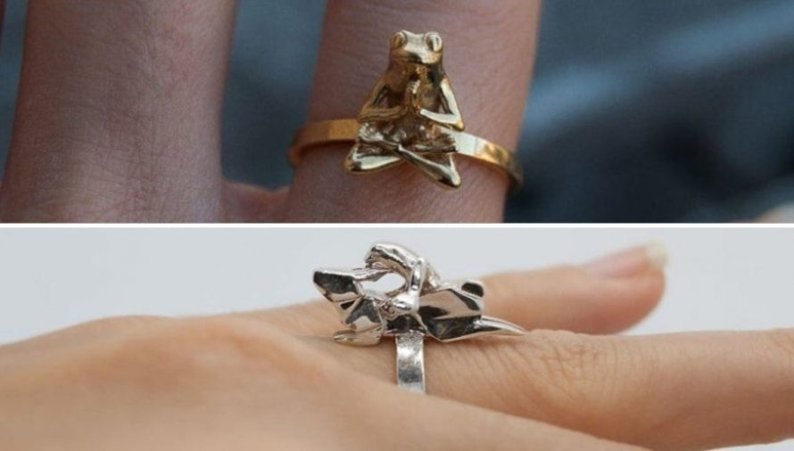 Anna Reikher: Intricate Nature-Inspired 3D Printed Rings