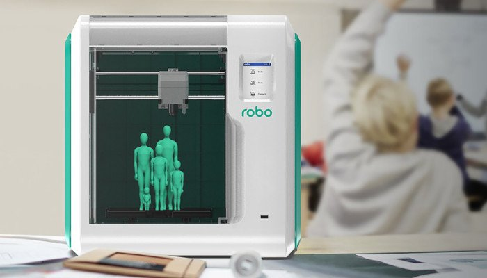 robo e3 educational 3d printer