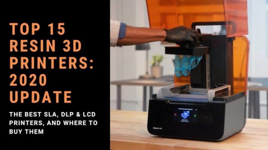 best resin sla dlp lcd 3d printer ranking cover 2020