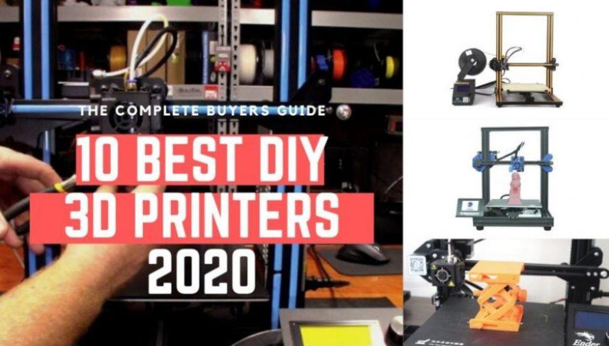 The 11 Best DIY 3D Printer Kits 2020 (Starting at $200!)