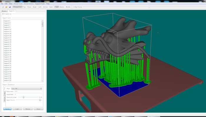 b9creator b9creations resin slicer software