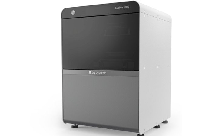 3d systems fabpro 1000 fast 3d printer