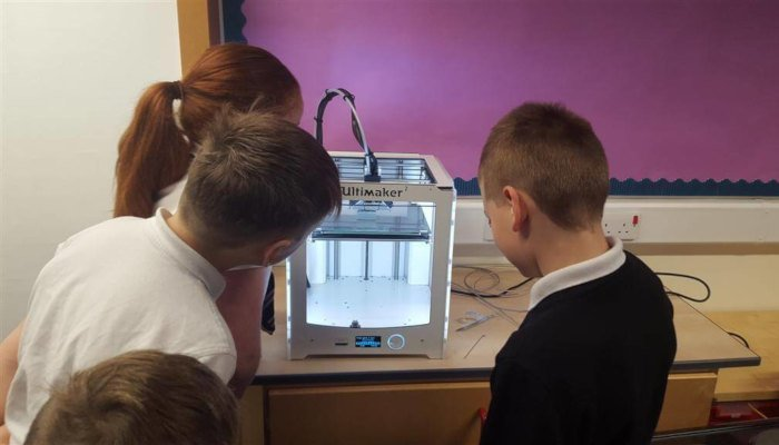 3d printer used in schools