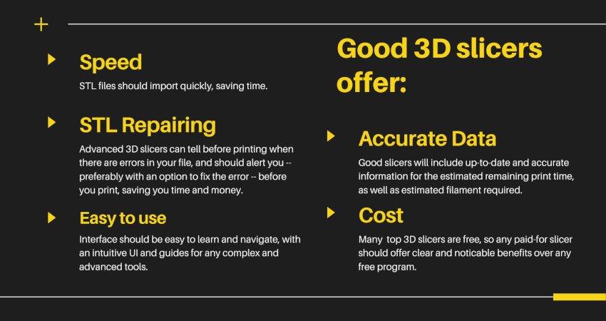 benefits of a good 3D slicer