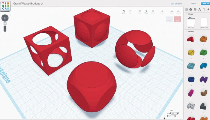 tinkercad 3d printing software