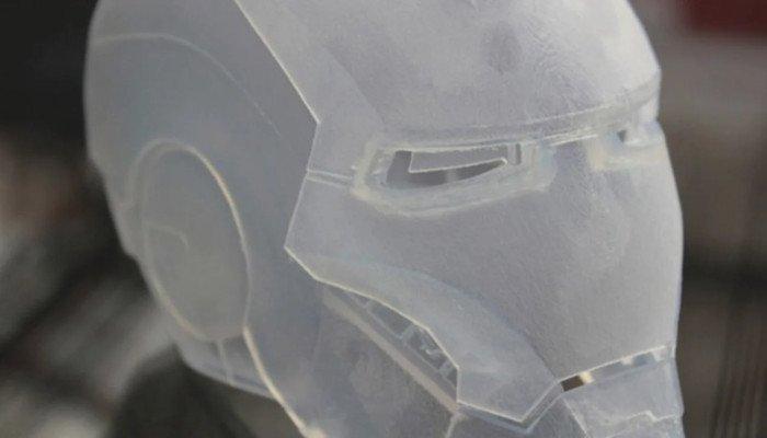 polycarbonate filament 3d printed transparent part