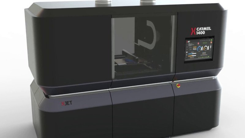 xjet carmel 1400m metal 3d printer