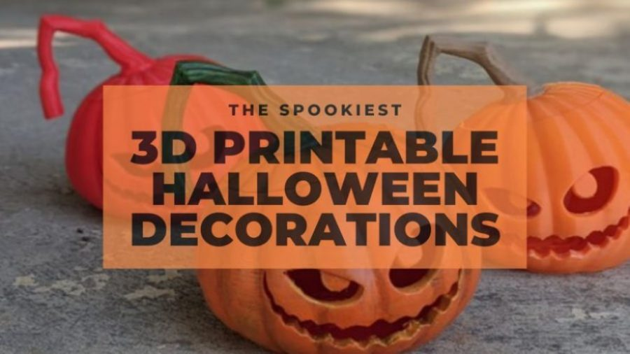 best 3d printable halloween decorations