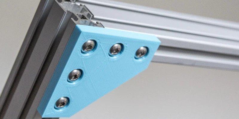 3D printed aluminum component